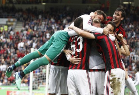 """""""AC Milan"""" sezoną užbaigė sudaužius """"Fiorentina"""", """"Roma"""" palaužė """"Sassuolo"""" (VIDEO)"""