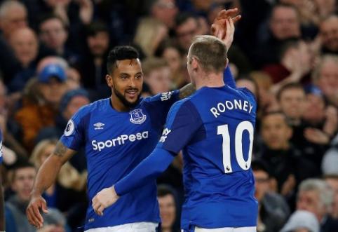 T. Walcottas: norėčiau, kad Rooney liktų