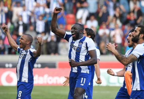 """""""Porto"""" po penkių metų pertraukos susigrąžino Portugalijos čempionų titulą"""