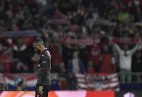 """Pasakiško A. Wengero atsisveikinimo nebus: Madride pralaimėjęs """"Arsenal"""" vietą finale užleido """"Atletico"""" (VIDEO)"""