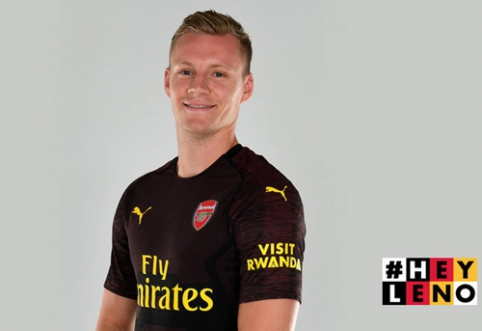 """Oficialu: """"Arsenal"""" įsigijo """"Bayer"""" vartininką B. Leno"""