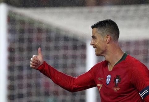C. Ronaldo tapo dar vieno elitinio klubo nariu