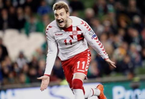 Danijos rinktinės sudėtis - be N. Bendtnerio