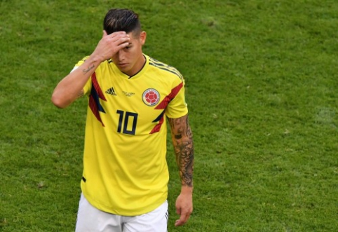 "J. Rodriguezas: ""Bayern"" gretose esu laimingas"
