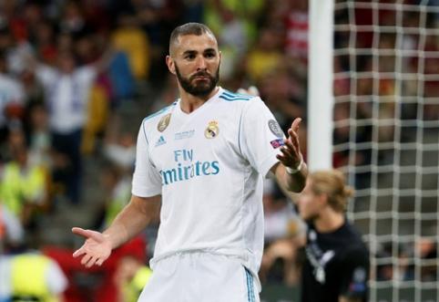"K. Benzema paneigė gandus apie derybas su ""Milan"""