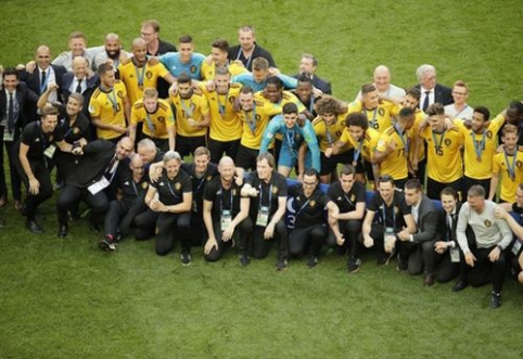 Bronziniame finale anglus parklupdę belgai pasiekė geriausią rezultatą šalies istorijoje