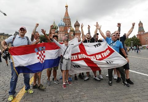 Anglija - Kroatija: kuri ekipa pateks į išsvajotą finalą? (apžvalga)