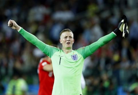 J. Pickfordas nepadės Anglijos rinktinei pasaulio čempionato atrankoje