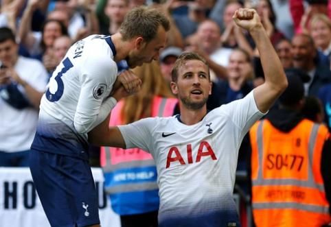 """""""Tottenham"""" palaužė """"Fulham"""", o H. Kane'as nutraukė """"rugpjūčio prakeiksmą"""" (VIDEO)"""