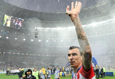M. Mandžukičius pranešė apie karjeros pabaigą Kroatijos rinktinėje