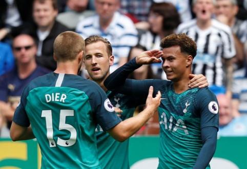 """Rezultatyvi rungtynių pradžia """"Tottenham"""" ekipai atnešė pirmuosius tris taškus (VIDEO)"""