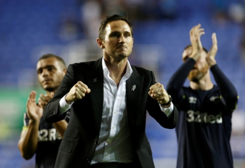 "F. Lampardas pergalingai debiutavo ""Championship"" pirmenybėse (VIDEO)"