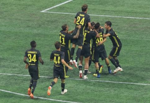 """""""Juventus"""" po baudinių serijos nukovė MLS žvaigždes (VIDEO)"""