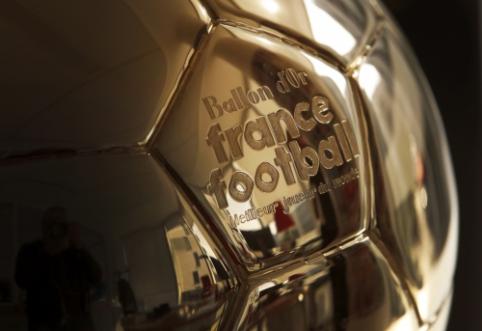 """""""Ballon d'Or"""" į savo apdovanojimus įtraukė dvi papildomas nominacijas"""