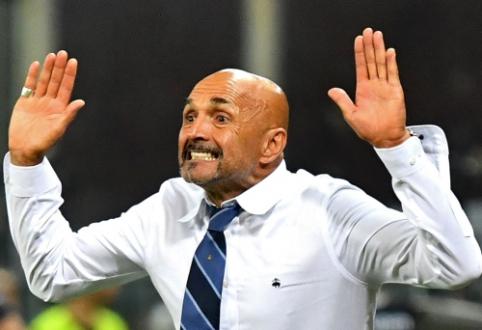 """L. Spalletti: """"Šių metų """"Inter"""" mėgsta rizikuoti"""""""