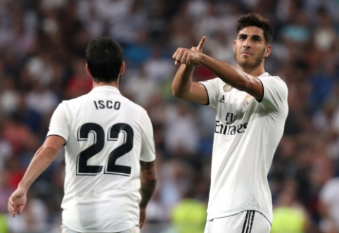 """Ispanijos pirmenybėse - Madrido """"Real"""" ir """"Atletico"""" klubų pergalės"""