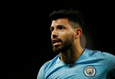 """Oficialu: S. Aguero pratęsė kontraktą su """"Man City"""" iki 2021-ųjų"""