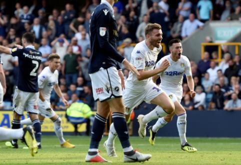 """""""Championship"""": """"Leeds"""" prarado taškus, tačiau išlieka pirmoje pozicijoje"""
