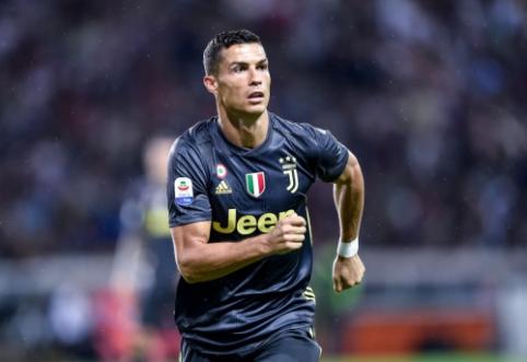 """Del Piero įspėjo C. Ronaldo, kad nesitikėtų lengvų įvarčių """"Serie A"""""""