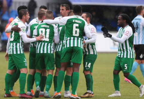 """LFF taurė - """"Žalgirio"""" futbolininkų rankose"""