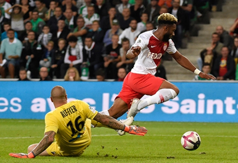 """Ligue 1"": Sent Etjene - eilinis ""Monaco"" pralaimėjimas"