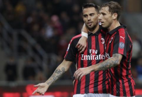 """""""Milan"""" Italijoje po rezultatyvios kovos palaužė """"Sampdoria"""""""