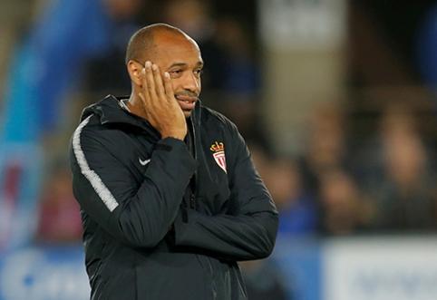 """""""Ligue 1"""": T.Henry debiutas prisvilo, """"Lille"""" bando vytis lyderius"""