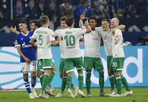 """""""Werder"""" ir toliau demonstruoja puikų žaidimą"""