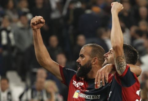 """""""Juventus"""" Italijoje prarado pirmuosius taškus"""