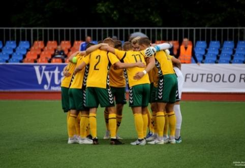 U-21 rinktinė Europos čempionato atranką užbaigė pergale prieš suomius