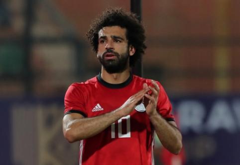 M. Salah įmušė nuo kampinio, tačiau pasirodymą apkartino trauma