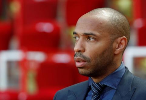 """""""Monaco"""" strategu tapsiantis T. Henry iš """"Arsenal"""" prisivilios trenerį"""