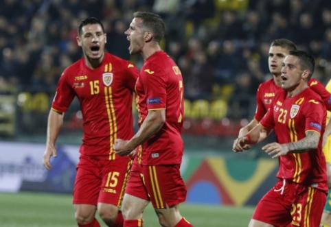 """Rumunų verdiktas: """"Tik per plauką laimėjome prieš gerokai žemesnio lygio komandą"""""""