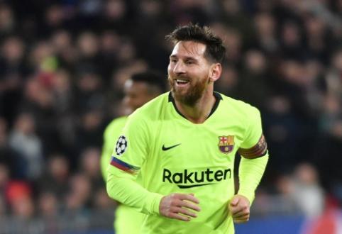 "Del Bosque: ""Auksinio kamuolio"" rinkimai praranda vertę, kai trejetuke nėra Messi"""
