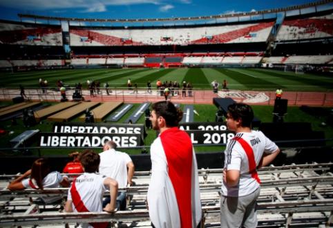 """Neribotam laikui atidėtas Argentinos futbolą apjuodinęs """"Superclasico"""""""