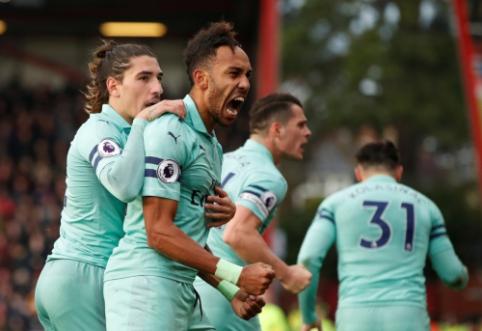 """Lygiųjų maratoną užbaigęs """"Arsenal"""" išvykoje įveikė """"Bournemouth"""""""