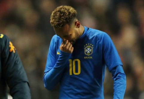 Edmilsonas: Neymaras suklydo išvykdamas į PSG