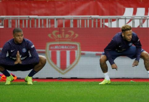 PSG žvaigždės Neymaras ir Mbappe susižeidė draugiškų rungtynių metu