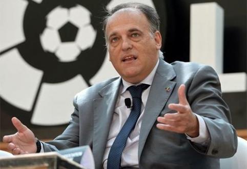 """La Liga"" vadovas ragina UEFA bausti PSG ir ""Man City"" klubus"