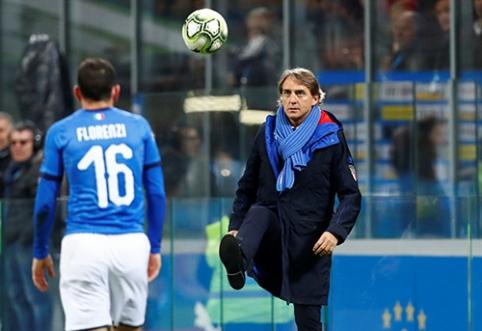 """R.Mancini: """"Ši Italijos rinktinė gali žaisti"""""""