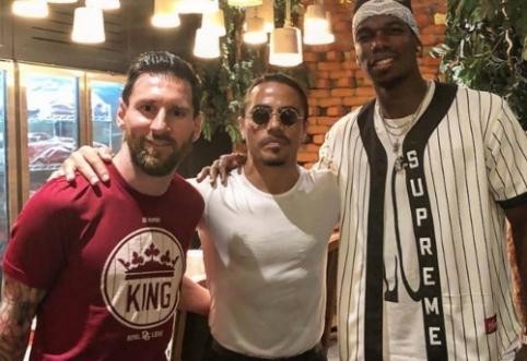 L. Messi atostogos: susitikimas su P. Pogba ir apsilankymas garsiojo šefo restorane