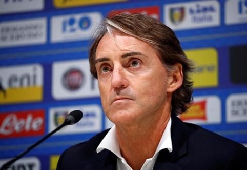 R.Mancini: labai gaila, jog C.Ronaldo nežais prieš mus