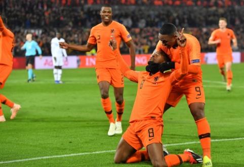 Tautų lyga: Nyderlandai skėlė antausį pasaulio čempionams