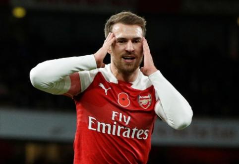 "A. Ramsey veda derybas su ""Bayern"""