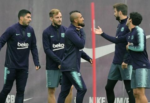 """""""Barcelona"""" žvaigždės po pralaimėjimo susikivirčijo tarpusavyje"""
