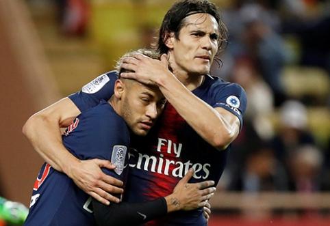 """Stebuklas neįvyko: PSG sutraiškė ir """"Monaco"""""""