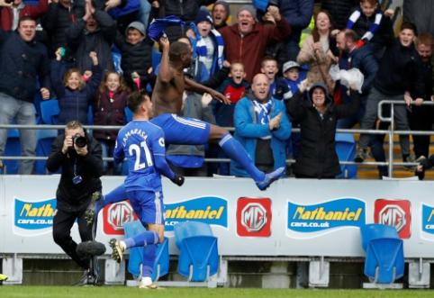 """""""Cardiff"""" rungtynių pabaigoje be taškų paliko mažumoje žaidusį """"Brighton"""""""