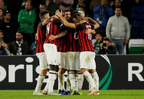 """""""Arsenal"""" namuose neįveikė """"Sporting"""", """"Betis"""" ir """"Milan"""" sužaidė lygiosiomis"""