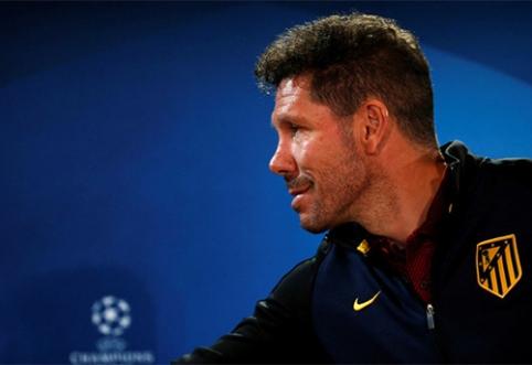 """D.Simeone neketina keisti taktikos prieš """"Borussia"""""""