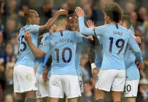 """""""Man City"""" subombardavo """"Southampton"""" vartus, """"Chelsea"""" įveikė """"Crystal Palace"""""""